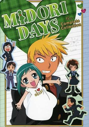 Midori Days - The Handheld Collection DVD Set Sealed New Limited Edition