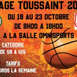 Stage de la Toussaint