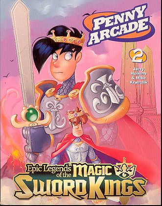 PENNY ARCADE TP VOL 02 LEGENDS MAGIC SWORD DARK HORSE COMICS (W/A) Jerry Holkin