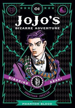 JoJo's Bizarre Adventure Part 1 Phantom Blood HC VOL 1,2,3 VIZ MEDIA LLC