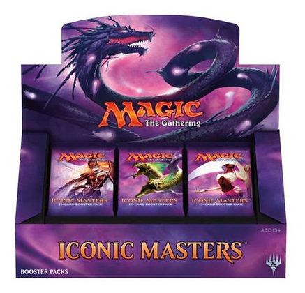 ONE MTG Magic the Gathering Iconic Masters SEALED Booster Box