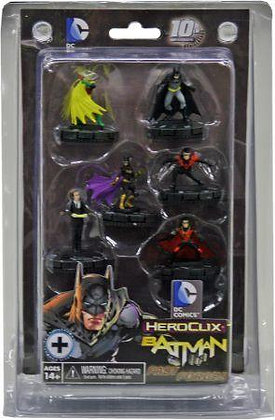 Heroclix BATMAN Fast Forces Set 2012 WizKids DC 6-Figures