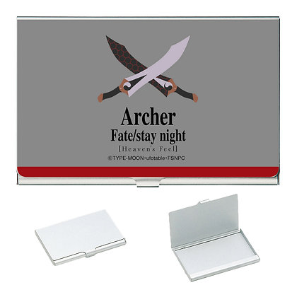 """""""Fate/stay night -Heaven's Feel-"""" Business Card Case Archer"""