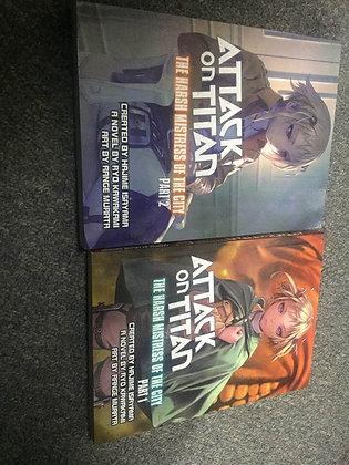 ATTACK ON TITAN HARSH MISTRESS OF CITY PART 1, 2 NOVELBooks New