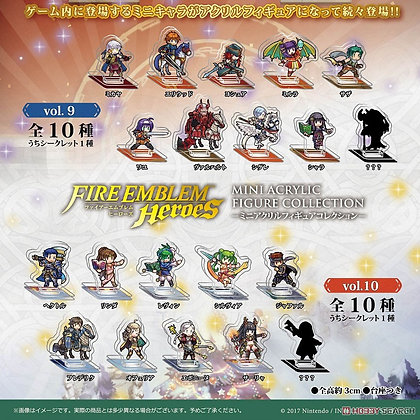 Fire Emblem: Heroes Mini Acrylic Figure Collection Vol.10 (Set of 10)
