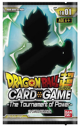 Dragon Ball Super Themed Booster Set 1 Display - The Tournament of Power (24ct)