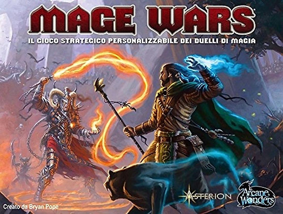 Arcane Wonders Mage Wars Game