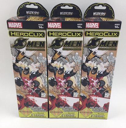 Marvel Heroclix X-Men Xavier's School Boosters x 3