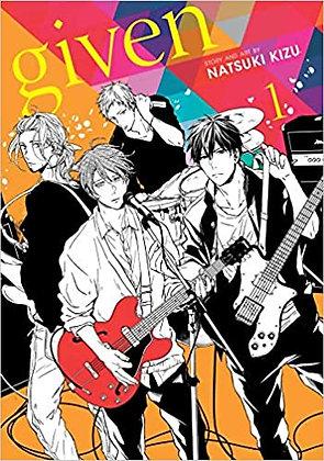 Given, Vol. 1 Yaoi Manga Book