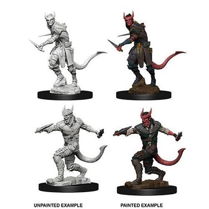 D&D Tiefling Male Rogue Nolzur's Miniatures Dungeons & Dragons