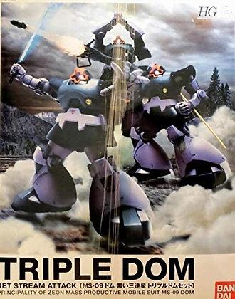 BandaiMobile Suit GundamTriple Dom SetModel Kit