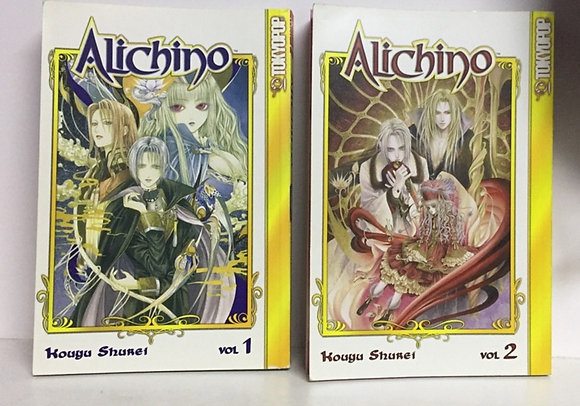 Alichino, Volume 1,2 TokyoPop Manga Books – February 1, 2005  by Kouyu Shurei