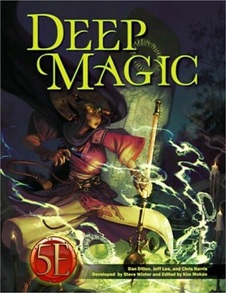 Deep Magic for 5th EditionHardcover – October 6, 2020  byJeff Lee(Author)