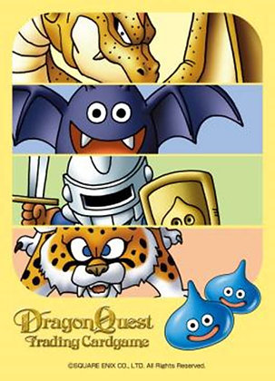 """Square Enix """"Dragon Quest"""" Trading Card Game Official Card Sleeve TYPE004"""