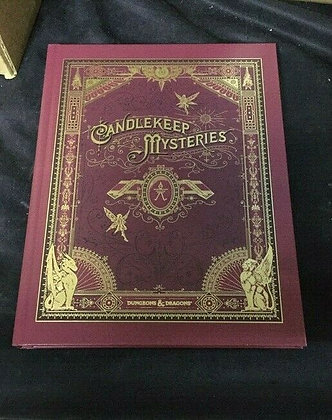D&D Dungeons and Dragons RPG: Candlekeep Mysteries Hard Cover Alternate