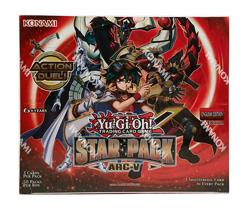 Yugioh 2015 Star Pack Series 3 TCG Arc-V 1ST EDITION Booster Box