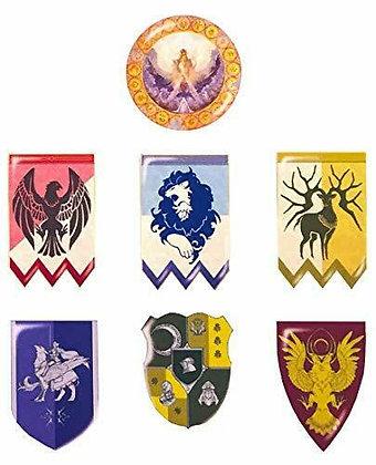 "Set of 7 ""Fire Emblem: Three Houses"" Pin Badges"