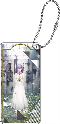 """Fate/stay night -Heaven's Feel-"" Domiterior Key Chain Key Visual A"