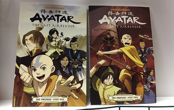 Avatar: The Last Airbender: The Promise, Part 1 & 2 Paperback