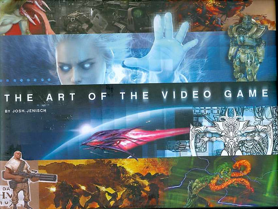 ART OF VIDEO GAME HC (C: 0-1-2) CHRONICLE BOOKS (W) Josh Jenisch (A) Various   b