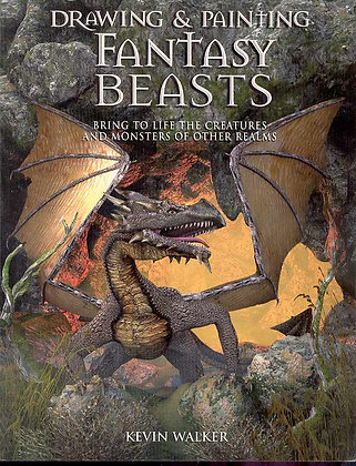 DRAWING & PAINTING FANTASY BEASTS TP (C: 0-1-2) B.E.S. PUBLISHING (W/A/CA) Kev