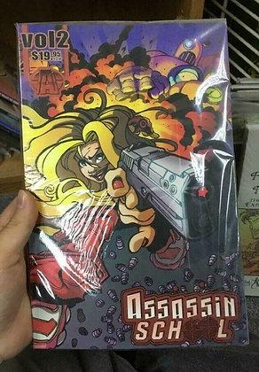 Assassin School Vol. 2 (Graphic Novel)  byPhil Littler(Author),Enrique Corts