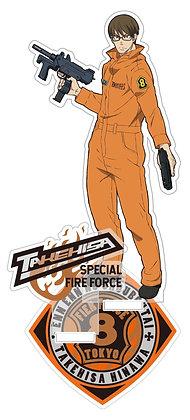 """Fire Force"" Acrylic Stand Takehisa Hinawa  byCabinet"