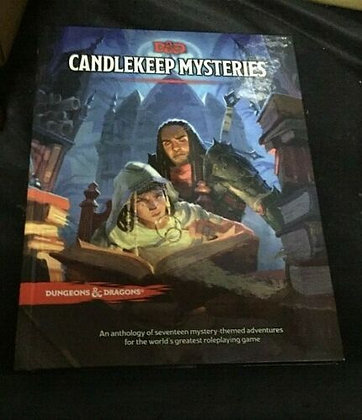 Candlekeep Mysteries D&D Dungeons & Dragons RPG Adventure Book -  Hardcover – Ma