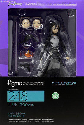 Sword Art Online Figma Kirito: GGO ver. (PVC Figure)