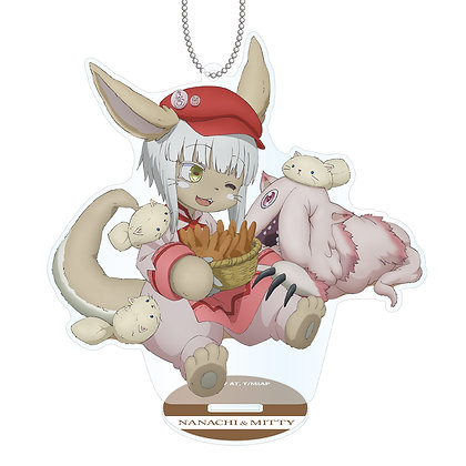 """Made in Abyss"" Original Illustration Lepus Nanachi AcrylicStand Key Chain"