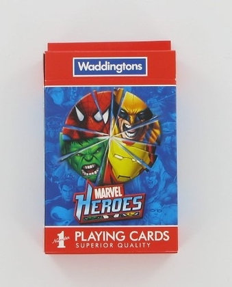 Waddingtons Marvel Playing Cards