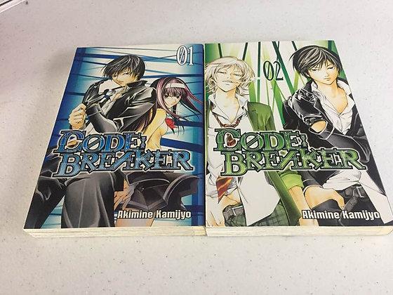 Code:Breaker Vol 1,2,Manga (2 Books) by Akimine Kamijyo  (Author)  THE DEATH DEA