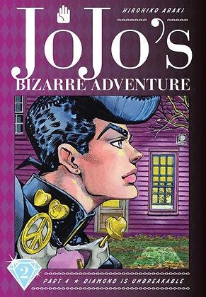JoJo's Bizarre Adventure Part 4 Diamond Is Unbreakable Vol. 1,2,3, (Manga)