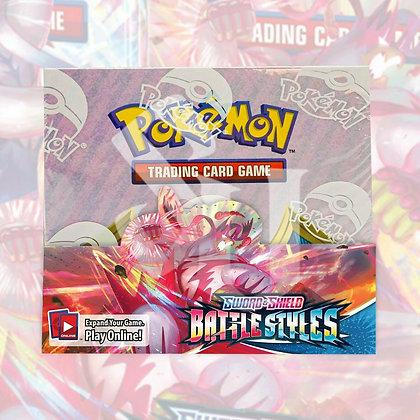 Pokemon Sword & Shield BATTLE STYLES U.S English SEALED Booster Box (36 packs)