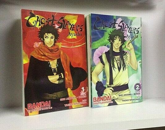 Ghost Slayers Ayashi Volume 1,2 MangaPaperback – September 2, 2008  byYaeko Ni