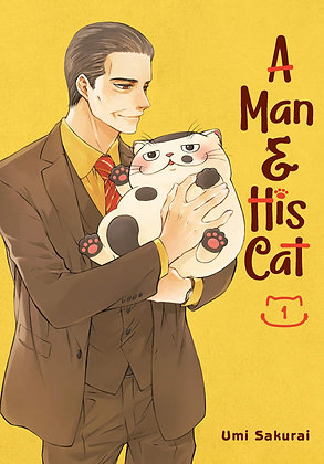 A Man and His Cat Vol 1 Paperback – Illustrated, February 11, 2020  by Umi Sakur