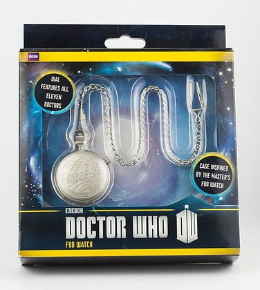 Doctor Who 50th Anniversary Master's Fob Watch