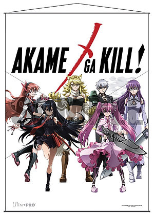 Akame Ga Kill! Wall Scroll: Heroines wall scroll