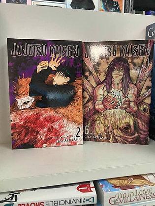Jujutsu Kaisen, Vol. 2,6 ( 2 manga) Paperback –– December 1, 2020 by Gege Akutam