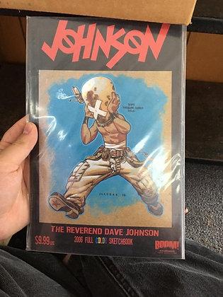 Dave Johnson Full-Color Sketchbook Issue # 1 (BOOM! Studios)