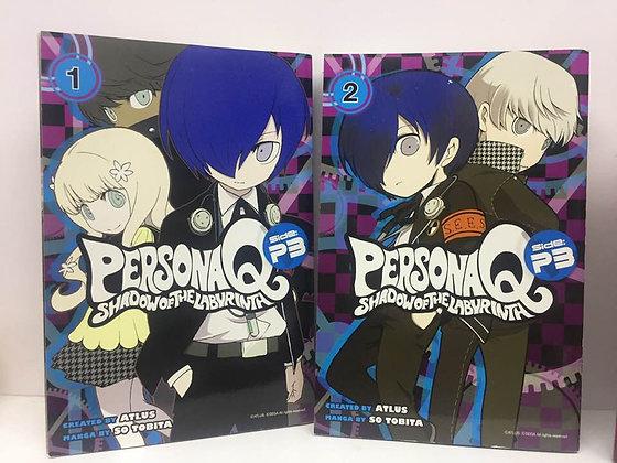 Persona Q: Shadow of the Labyrinth Side - P3 Vol. 1,2 (Manga)