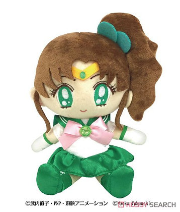 Pretty Soldier Sailor Moon Moon Prism Plush Sailor Jupiter (Anime Toy)