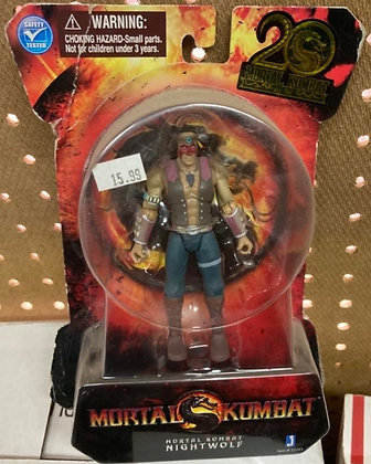 Mortal Kombat 9 Nightwolf Jazwares 4 Inch Action Figure