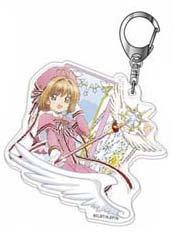 "Acrylic Key Chain ""Cardcaptor Sakura: Clear Card Arc"" 02 Sakura B"