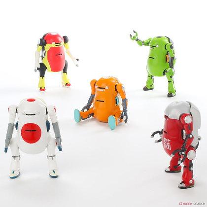 set of 5 Tiny Mechatro WeGo figure