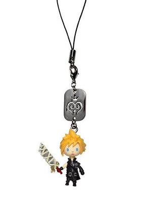 Kingdom Hearts: Cloud (AC Ver) Avatar Mascot Figure Phone Charm