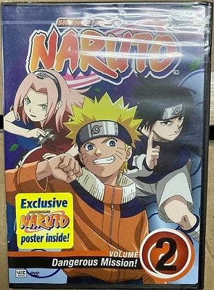 Naruto, Vol. 2 - Dangerous Mission! (DVD)