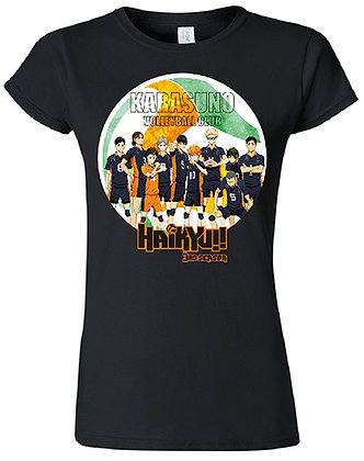 HAIKYU!! - GROUP SILHOUETTE JRS. T-SHIRT by GE Animation