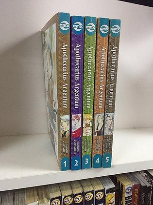 Apothecarius Argentum: VOL 1,2,3,4,5 Manga BooksPaperback – May 2, 2007