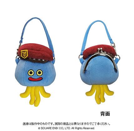 """Dragon Quest Heros II"" Plush Gamaguchi Pouch Homiron"